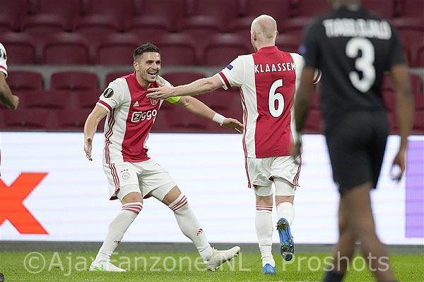 Nederland nadert plaats zeven op UEFA coëfficiëntenlijst door zege Ajax