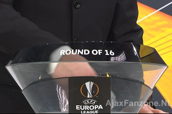 Ajax gekoppeld aan Young Boys in achtste finale Europa League