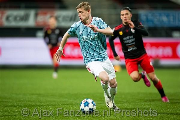 Jong Ajax hard onderuit bij Excelsior: 5-1