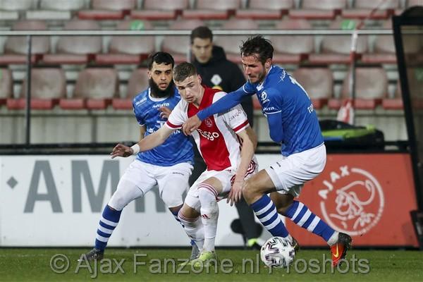 Jong Ajax weet ook niet te winnen van hekkensluiter FC Den Bosch: 1-2
