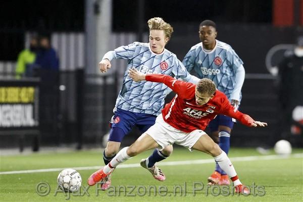 Jong Ajax onderuit tegen Jong AZ: 2-1