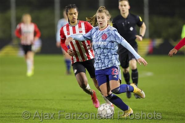 Ajax Vrouwen weten topper tegen PSV Vrouwen niet te winnen: 2-1