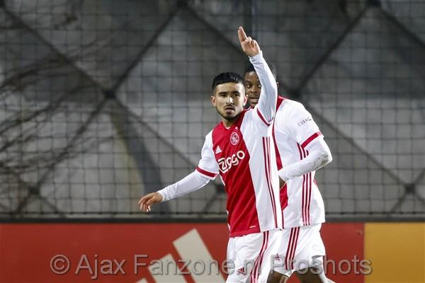 Jong Ajax in doelpuntrijke wedstrijd langs MVV: 4-3