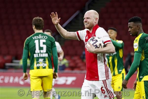 Ajax met speels gemak langs ADO: 5-0