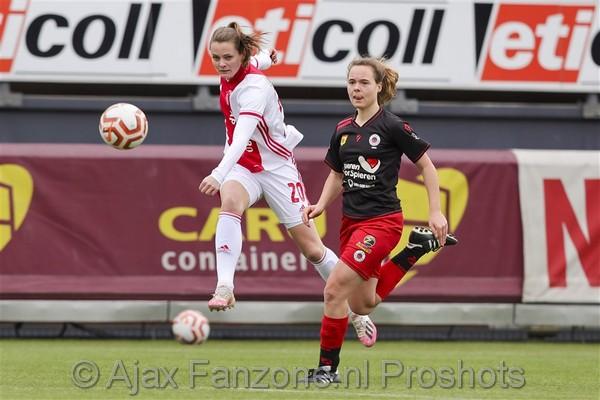 Ajax Vrouwen ruim langs Excelsior: 1-4