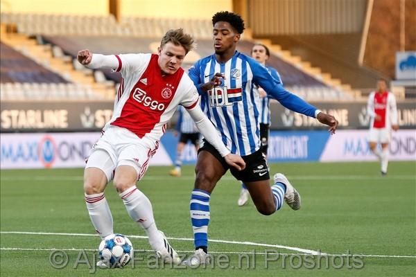 Jong Ajax pijnlijk onderuit bij FC Eindhoven