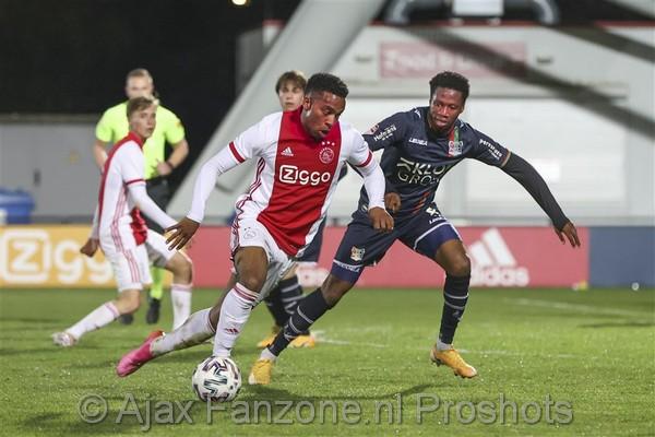 Jong Ajax verliest van NEC: 0-1