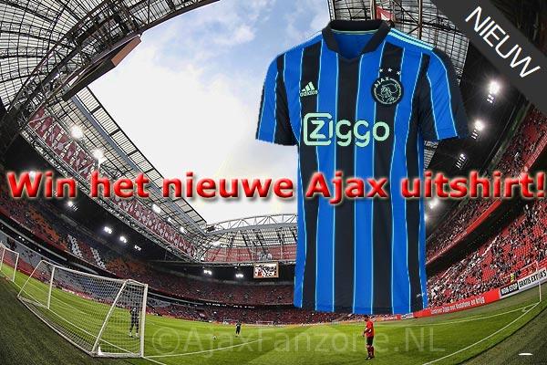 Prijsvraag: Win het nieuwe Ajax uitshirt 2021-2022