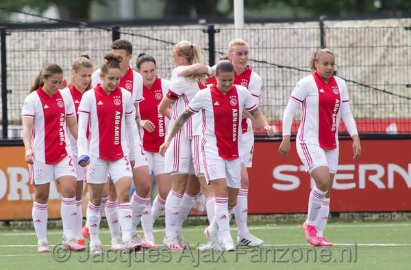 Ajax Vrouwen winnen van Den Haag maar grijpen naast ticket voorronde Champions League