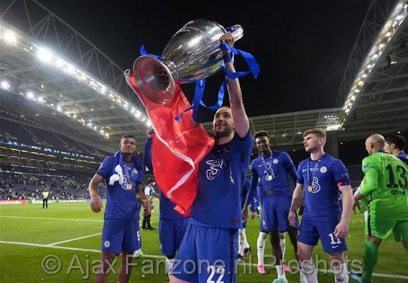 Ziyech ziet jongensdroom uitkomen na winnen Champions League