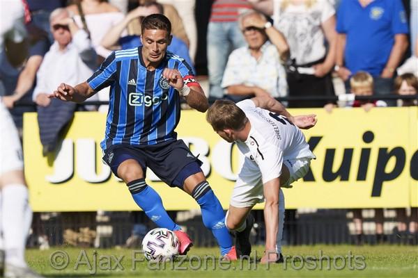 Ajax speelt gelijk tegen Quick'20: 1-1