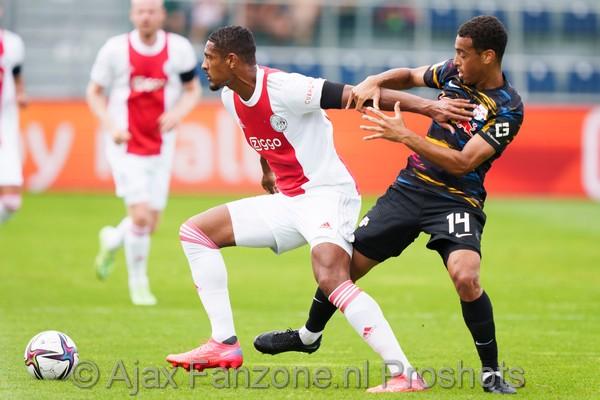 Ajax sluit trainingsweek Oostenrijk af met gelijkspel tegen Leipzig; 1-1