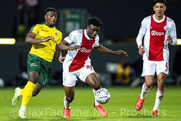 Ajax ook moeiteloos in Sittard langs Fortuna: 0-5